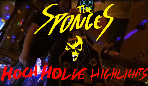 The Sponges Live AT Hoch Holle